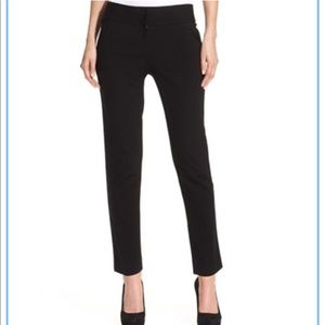 Vince Camuto NEW Straight-Leg Ponte Ankle Pants